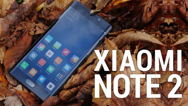 Xiaomi mi Note 2 - první pohled