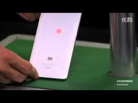 Xiaomi Mi Note Steel ball impact test and drop test