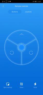 Xiaomi Roborock S50 recenze Xiaomi Mi Home aplikace ovlydani tlacitky