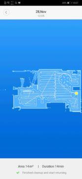 Xiaomi Roborock S50 recenze Xiaomi Mi Home aplikace plan cisteni