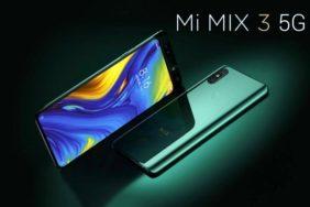 Xiaomi ukázalo Mi Mix 3 s podporou 5G sítí