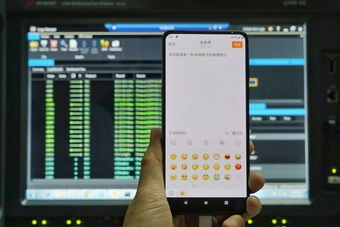Xiaomi ukázalo Mi Mix 3 s podporou 5G sítí testování