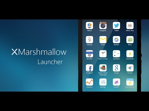 xMarshmallow Concept Launcher works perfect