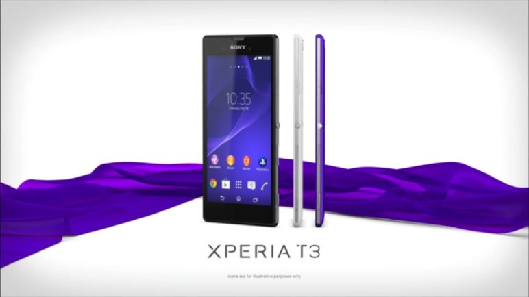Xperia T3 -- Introducing the world's slimmest 5.3-inch smartphone*