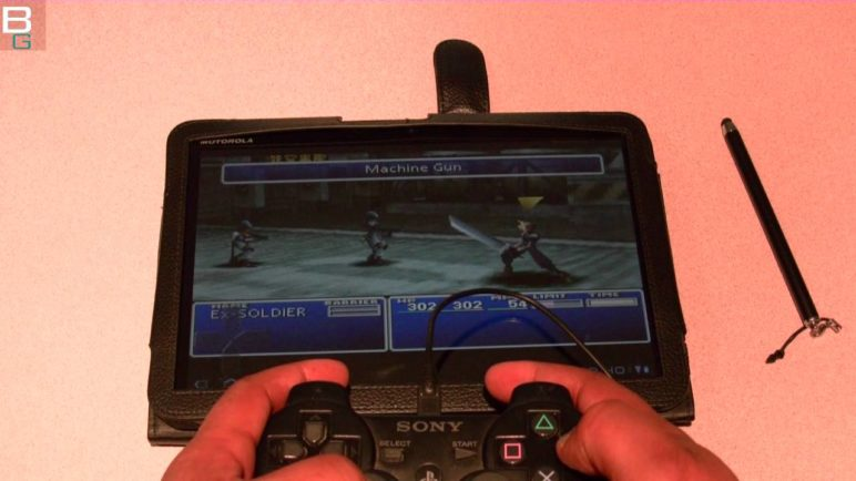 Yes It Works! PS3 Controller on Motorola Xoom Android. How To