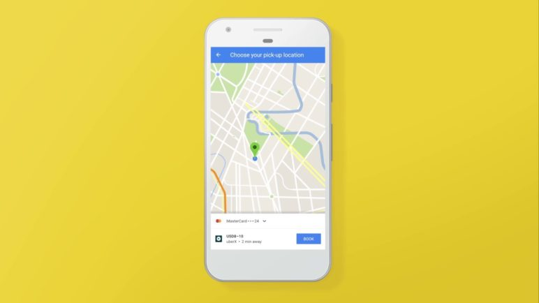 Your next ride from start to finish. All in Google Maps