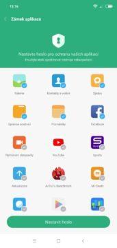 Zámek Xiaomi Redmi Note 6