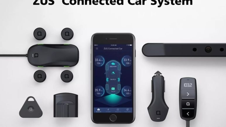 ZUS Connected Car System - Enhance your driving safety