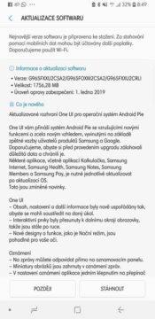 android 9 pie aktualizace samsung galaxy cesko