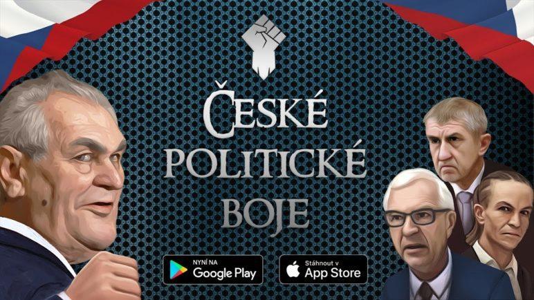ČESKÉ POLITICKÉ BOJE - nová mobilní hra pro Android a iOS 👊🇨🇿
