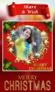 Christmas Photo Frame app