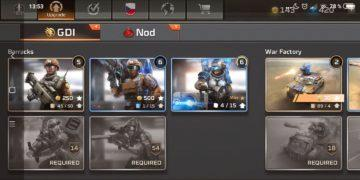 Command & Conquer: Rivals jednotky GDI - pěchota