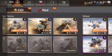 Command & Conquer: Rivals jednotky GDI - vozidla