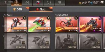 Command & Conquer: Rivals jednotky NOD - letadla