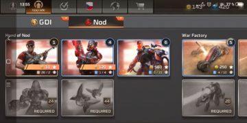Command & Conquer: Rivals jednotky NOD - pěchota
