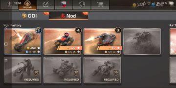 Command & Conquer: Rivals jednotky NOD - vozidla