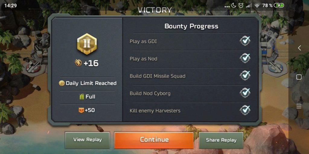 Command & Conquer: Rivals - po boji