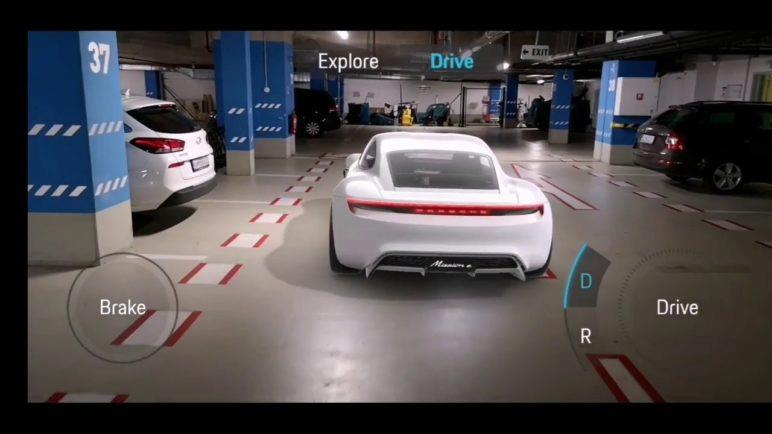 Drive Porsche Mission E App | How To Drive Porsche Mission E | Augmented Reality Android App