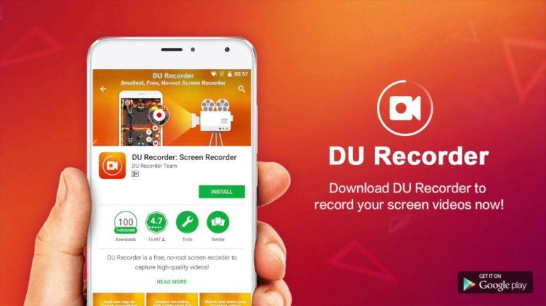 DU Recorder - Best screen recorder for Android, no ads, with facecam!