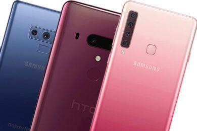 fototest Samsung Galaxy A9 vs Samsung Galaxy Note 9 vs HTC U12+
