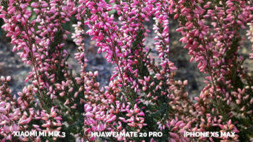 Fototest Xiaomi Mi Mix 3 vs Huawei Mate 20 Pro vs Apple iPhone XS Max makro detail