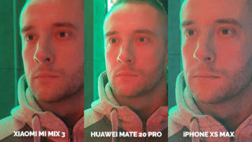 Fototest Xiaomi Mi Mix 3 vs Huawei Mate 20 Pro vs Apple iPhone XS Max noc portret detail