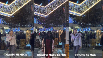 Fototest Xiaomi Mi Mix 3 vs Huawei Mate 20 Pro vs Apple iPhone XS Max nocni fotografie detail