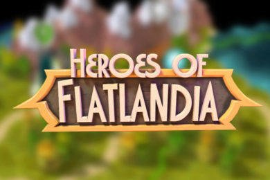 heroes of flatlandia strategie android hra
