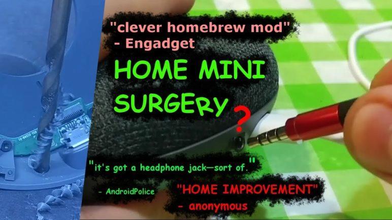 I DEFIED GOOGLE 😱 Hacked an Audio Port onto Google Home Mini (Mod Kit Available)
