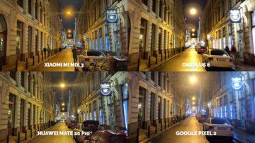 Noční režim Xiaomi Google Huawei OnePlus nocni ulice