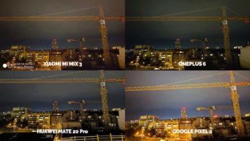 Noční režim Xiaomi Google Huawei OnePlus panorama