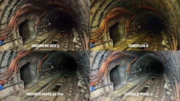 Noční režim Xiaomi Google Huawei OnePlus tunel metra
