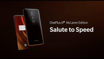 OnePlus 6T McLaren Edition - Salute to Speed