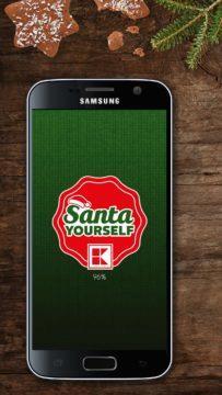 Santa Yourself aplikace