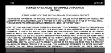 Schválení licenčních podmínek