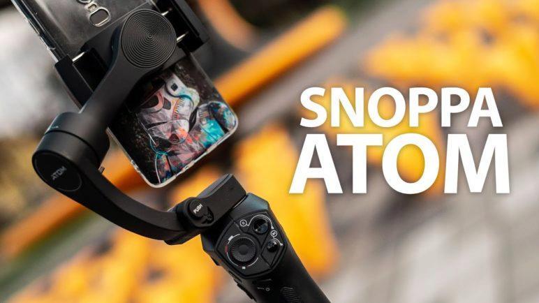 Snoppa Atom gimbal: Levný a miniaturní stabilizátor pro chytré telefony