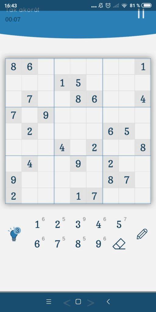 Sudoku Zenkai – pole