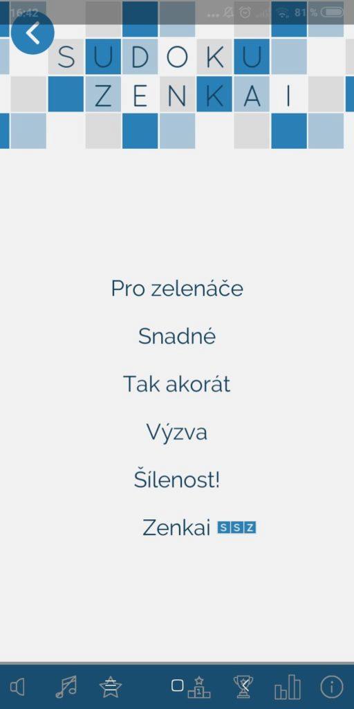 Sudoku-Zenkai-narocnost