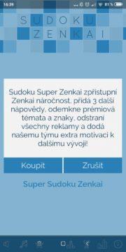 Sudoku Zenkai - premium