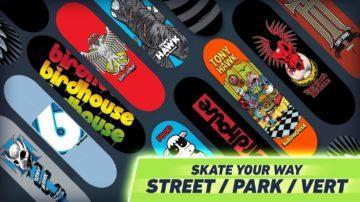 tony hawk android hra skateboard