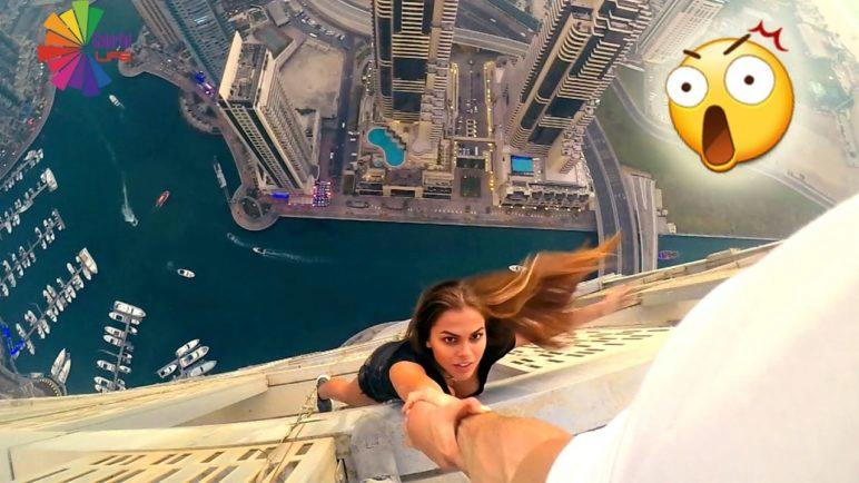 UNBELIEVABLE! The most Dangerous Selfies ever taken #1| People Are Awesome 2017