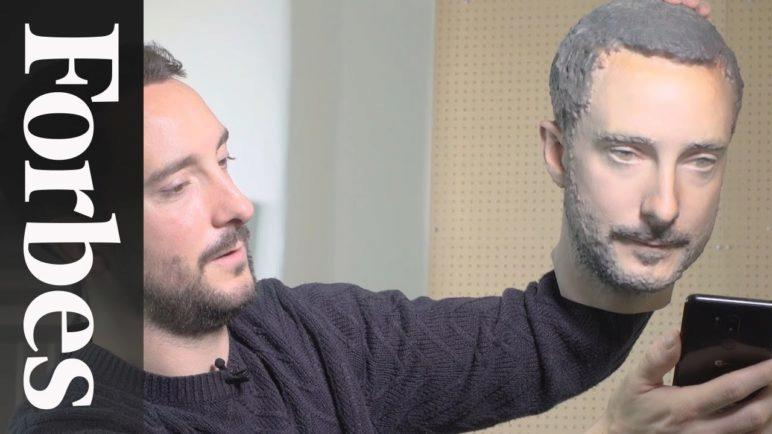 We 3D Printed Our Heads To Bypass Facial Recognition Security And It Worked | Forbes