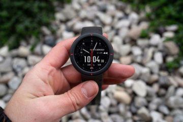 Xiaomi Amazfit Verge design hodinek