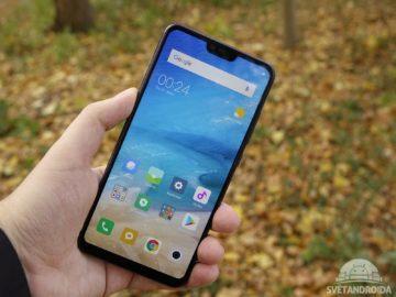 Xiaomi Mi 8 Lite displej