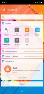 Xiaomi Mi 8 Lite launcher telefonu