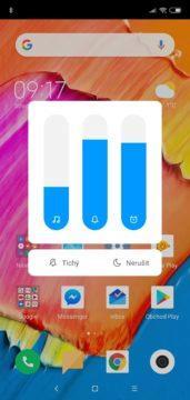 Xiaomi Mi 8 Lite nastavení hlasitosti
