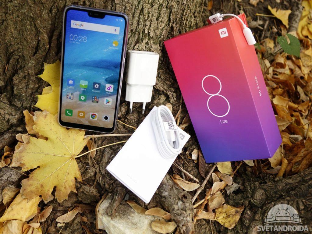 Xiaomi Mi 8 lite obsah balení