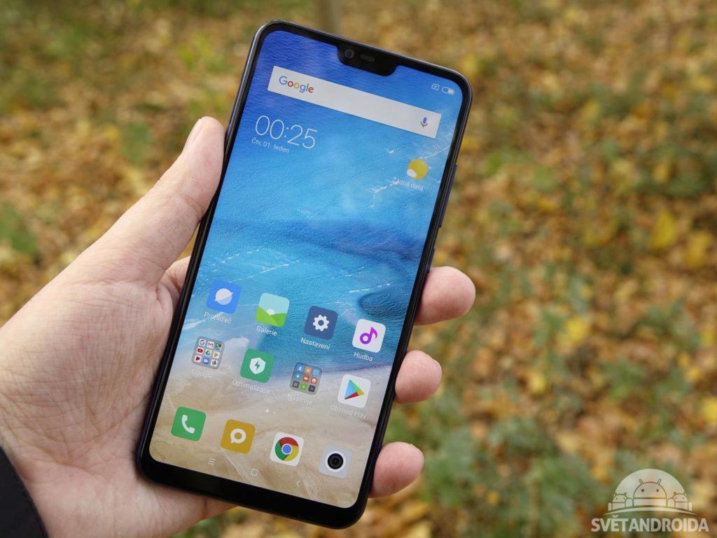 Xiaomi Mi 8 LIte přední strana