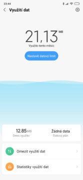 Xiaomi mi mix 3 vyuziti dat