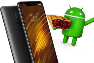 xiaomi pocophone f1 android 9 pie